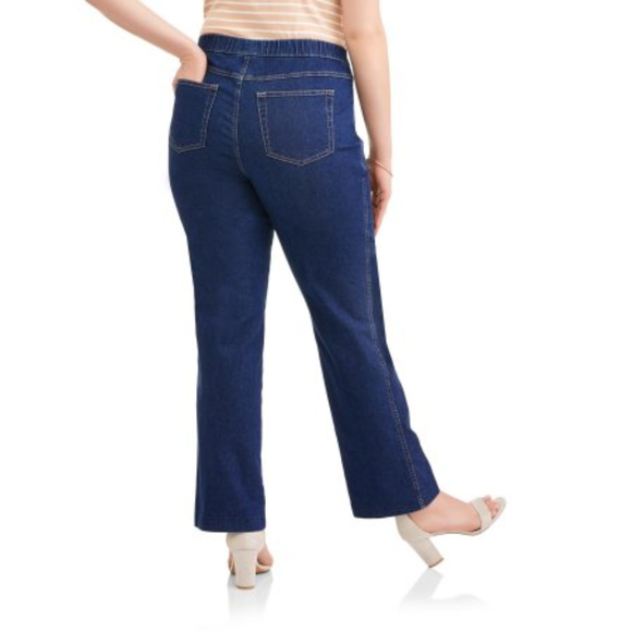 96fa605cf90 Just My Size Stretch Bootcut Jeans 2X NEW ~ A186